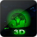Glowing Fungi Cave LWP icon