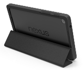 Funda tipo carpeta para Nexus 7 (2013) en color negro