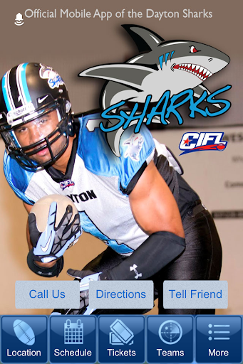 Dayton Sharks CIFL Football