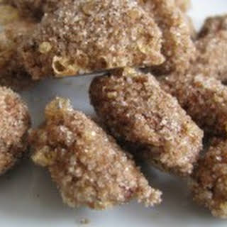 Cinnamon Sugar Roasted Almonds.