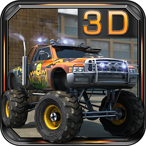 Monster Trucks 3D Parking for PC and MAC