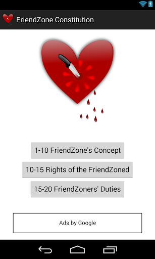 FriendZone Constitution
