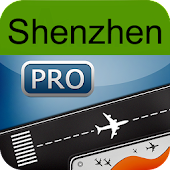 Shenzhen Airport+Flight Track