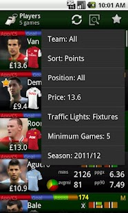 Differential FPL 2015/16- screenshot thumbnail