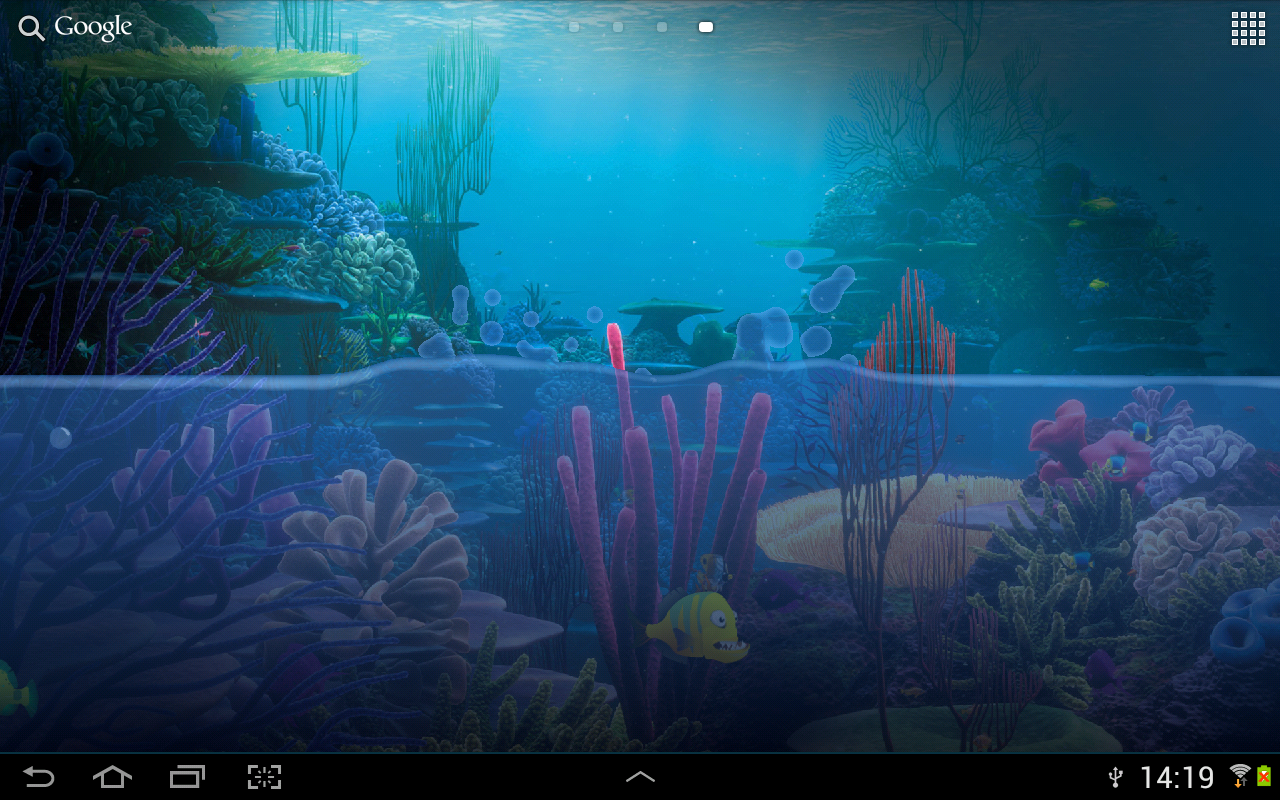 Fish tank live wallpaper android apps on google play for Live fish store