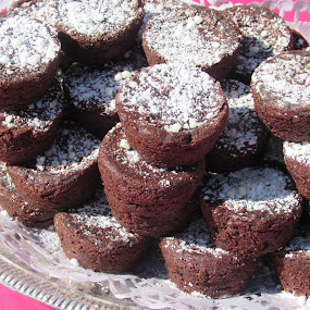 Brownie Bunch  by Anne Santostefano - Food & Drink Candy & Dessert ( treats, chocolate, cakes, brownies, party food, dessert,  )