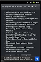 Screenshot of Himpunan Fatwa (Jakim)
