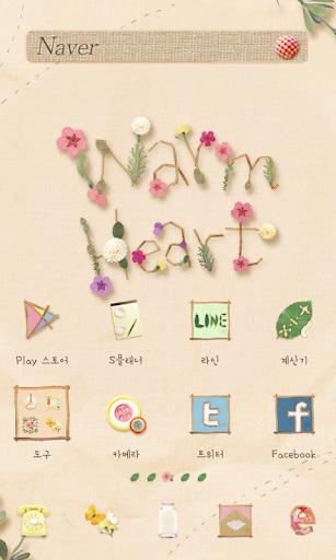 warmheart dodol launcher theme