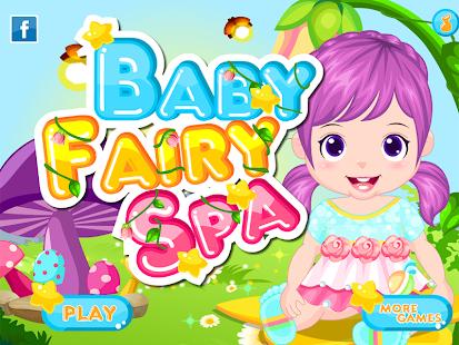 Baby Fairy Spa Salon Games