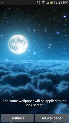 神秘的夜现场壁纸