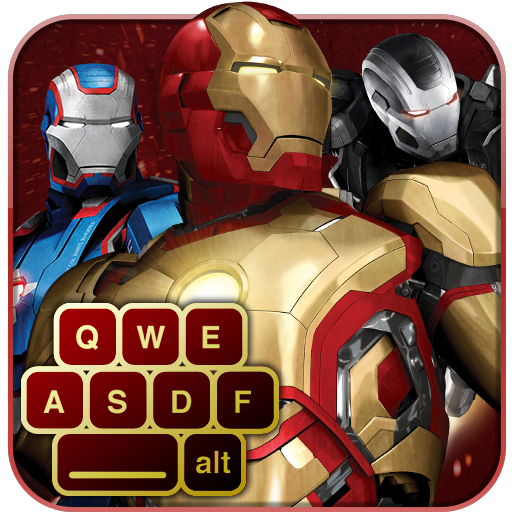 Iron Man 3 Keyboard Icon