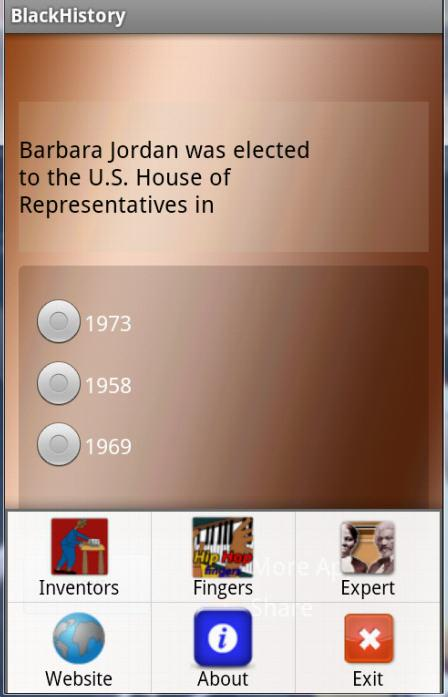 Black History Quiz- screenshot