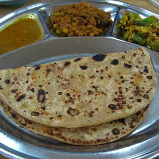 Oats Spring Onion Chapati.