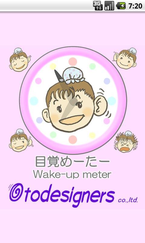 The wake-up meter- screenshot