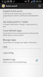 AutoLaunch Screenshot 1