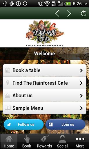 【免費娛樂App】Rainforest Cafe London-APP點子