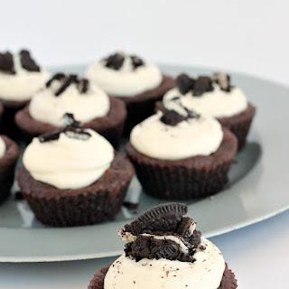 Oreo-Stuffed Double Chocolate Cookie Cups