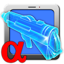 X-Rift. Augmented reality game mobile app icon