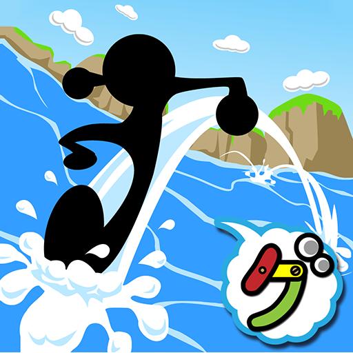 水切りジャンプ 休閒 App LOGO-硬是要APP