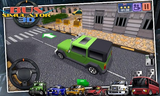 Bus Simulator 3D - free games - screenshot thumbnail