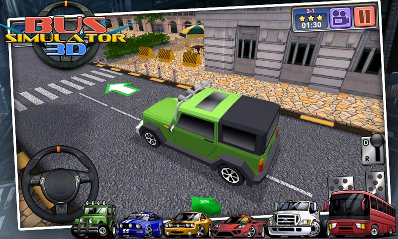 Bus Simulator 3D - free games - screenshot
