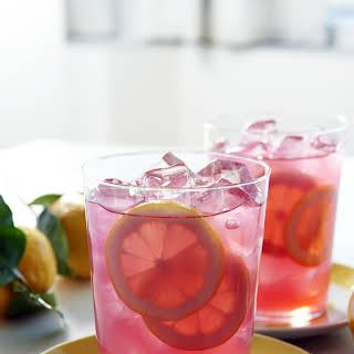 Floating Lemon Strawberry Acai.