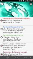Screenshot of DOUANE FRANÇAISE