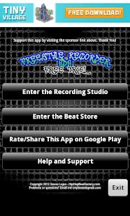 FreeStyle Recorder Tablet FREE - screenshot thumbnail