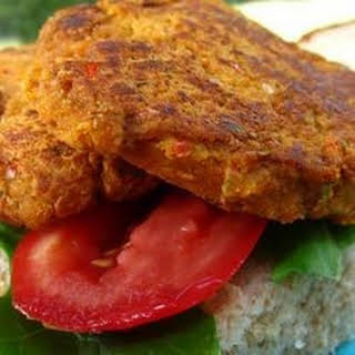Garbanzo Bean Burgers.
