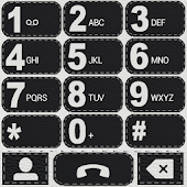 THEME LEATHER BLACK F EXDIALER