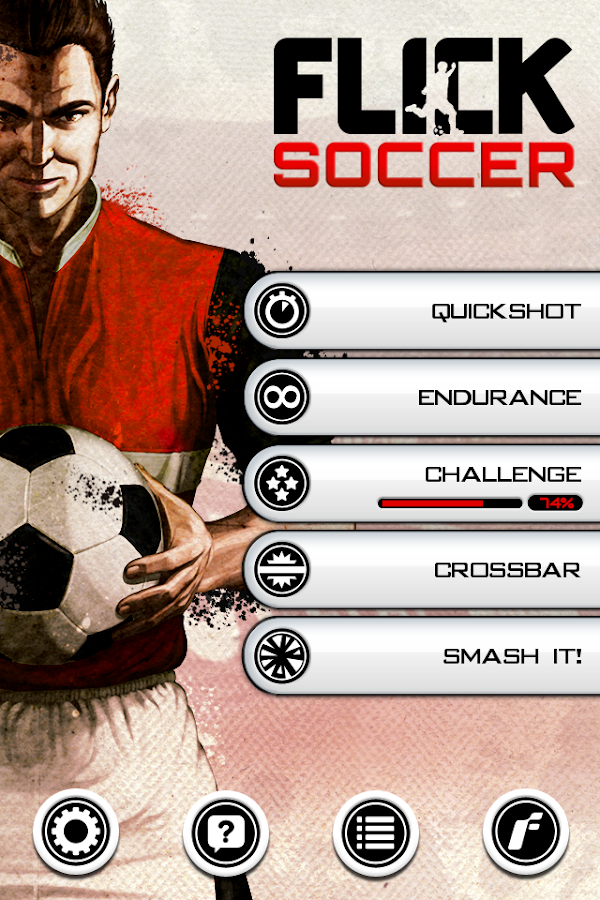Flick Soccer!- screenshot