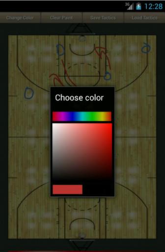 篮球教练板