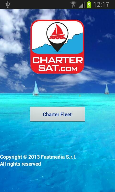 CharterSat- screenshot