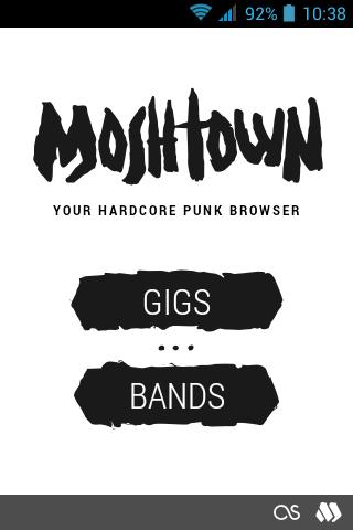 Moshtown Gigs