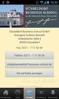 Screenshot of Düsseldorf Business School