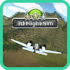 Simulador de vuelo 3D icon