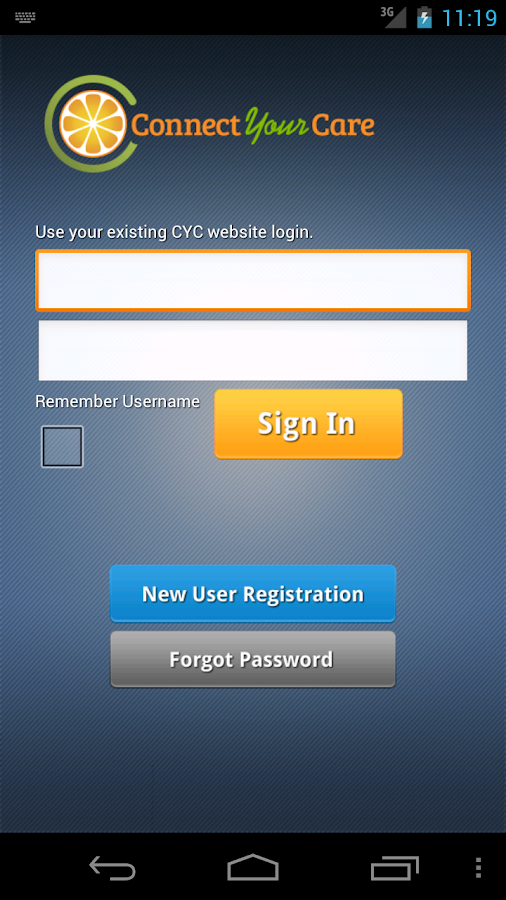 CYC Mobile - screenshot