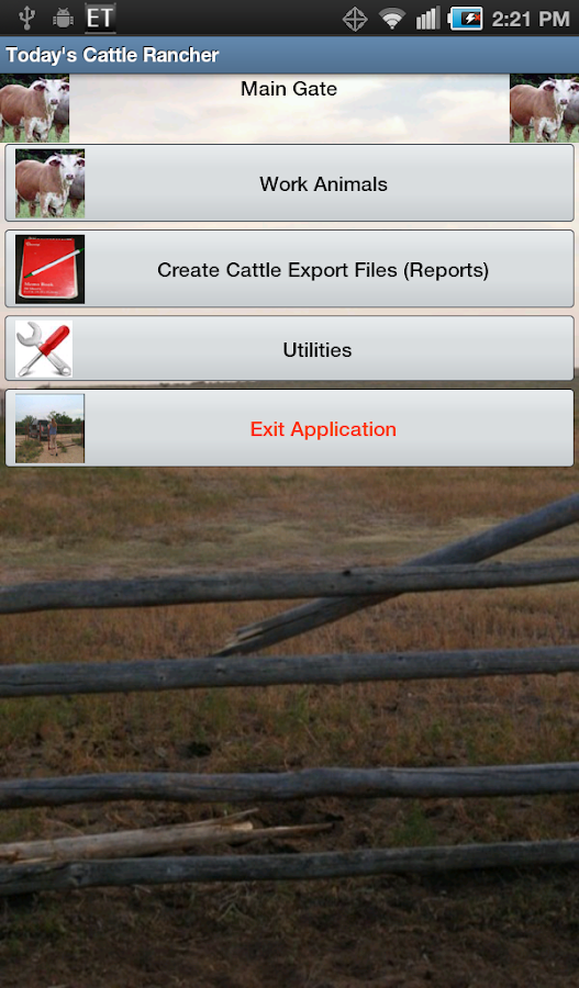 Today's Mobile Cattle Rancher - screenshot