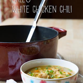 White Chicken Chili #Paleo