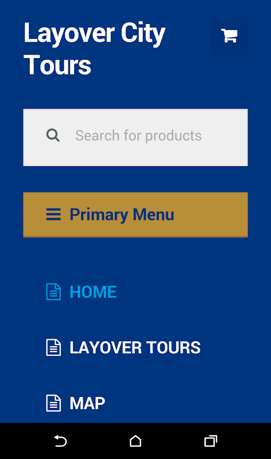 Layover Tours- screenshot