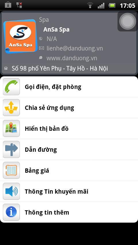 AnSa Spa - screenshot