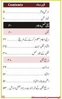 Screenshot of Fiqhi Masail Urdu (for Tab)
