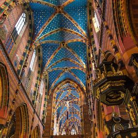 Kostol by Ján Hrmo - Buildings & Architecture Places of Worship ( polsko, interier, krakow, kostol )