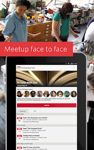 Meetup – Make community real - screenshot thumbnail