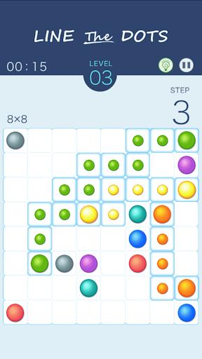 Line The Dots -simple puzzle-