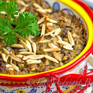 Creamy Beef & Wild Rice Casserole