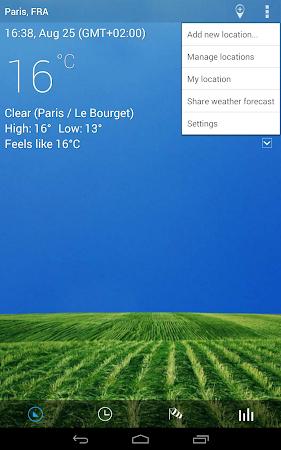Digital clock & world weather 1.05.49 screenshot 194377