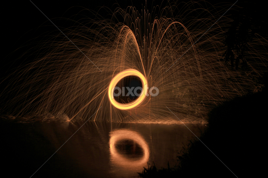 by Widi Hidayat - Abstract Fire & Fireworks