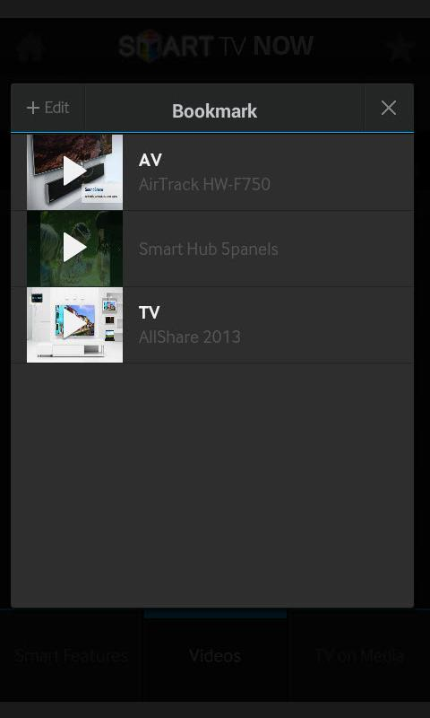 Samsung Smart TV Now - screenshot