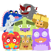 Happy Monsters (Slide Puzzle)